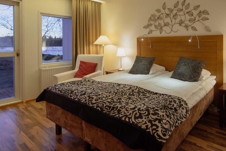 Hotelli Kumpeli huone